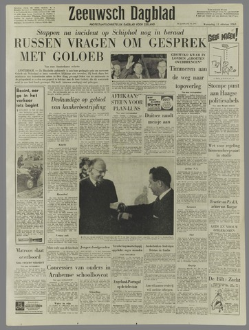 Zeeuwsch Dagblad 1961-10-11