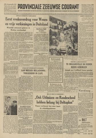 Provinciale Zeeuwse Courant 1954-09-11