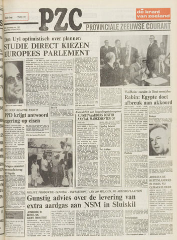 Provinciale Zeeuwse Courant 1975-07-17