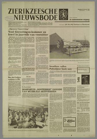 Zierikzeesche Nieuwsbode 1981-02-24