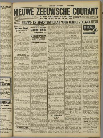 Nieuwe Zeeuwsche Courant 1927-08-13