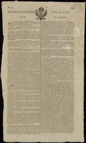 Middelburgsche Courant 1814-09-17