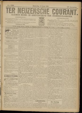 Ter Neuzensche Courant. Algemeen Nieuws- en Advertentieblad voor Zeeuwsch-Vlaanderen / Neuzensche Courant ... (idem) / (Algemeen) nieuws en advertentieblad voor Zeeuwsch-Vlaanderen 1916-06-10
