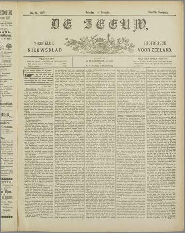 De Zeeuw. Christelijk-historisch nieuwsblad voor Zeeland 1897-12-04