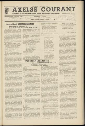 Axelsche Courant 1962-12-08