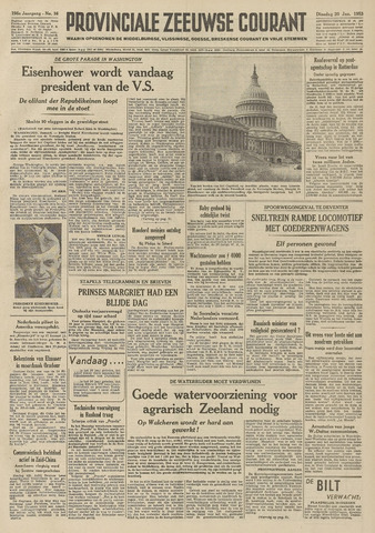 Provinciale Zeeuwse Courant 1953-01-20