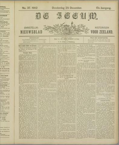 De Zeeuw. Christelijk-historisch nieuwsblad voor Zeeland 1902-12-25