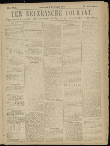 Ter Neuzensche Courant. Algemeen Nieuws- en Advertentieblad voor Zeeuwsch-Vlaanderen / Neuzensche Courant ... (idem) / (Algemeen) nieuws en advertentieblad voor Zeeuwsch-Vlaanderen 1919-02-01