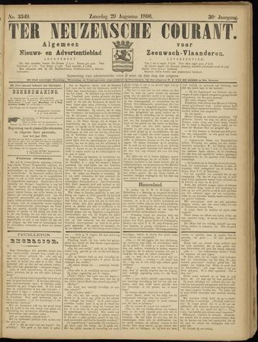 Ter Neuzensche Courant. Algemeen Nieuws- en Advertentieblad voor Zeeuwsch-Vlaanderen / Neuzensche Courant ... (idem) / (Algemeen) nieuws en advertentieblad voor Zeeuwsch-Vlaanderen 1896-08-29