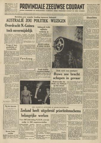 Provinciale Zeeuwse Courant 1962-01-24