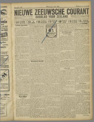 Nieuwe Zeeuwsche Courant 1921-07-04