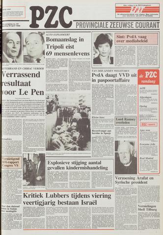 Provinciale Zeeuwse Courant 1988-04-25