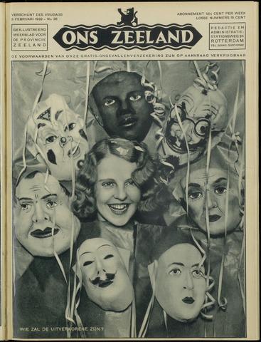 Ons Zeeland / Zeeuwsche editie 1932-02-05