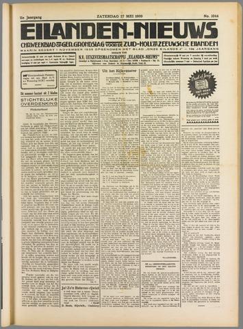 Eilanden-nieuws. Christelijk streekblad op gereformeerde grondslag 1939-05-27
