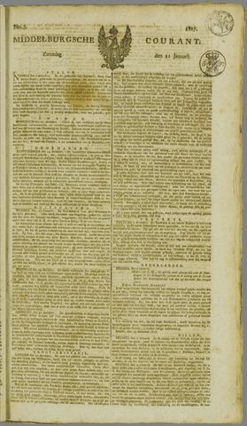 Middelburgsche Courant 1817-01-11