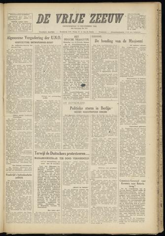 de Vrije Zeeuw 1946-12-12