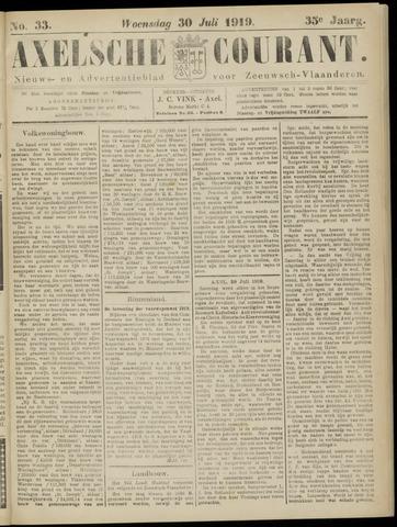 Axelsche Courant 1919-07-30