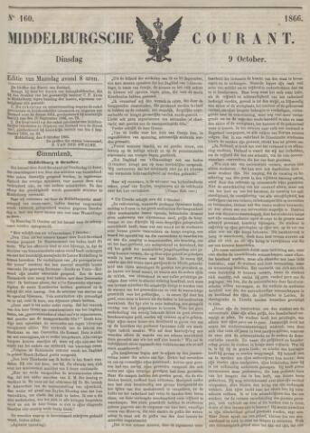 Middelburgsche Courant 1866-10-09