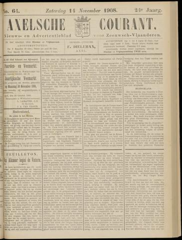 Axelsche Courant 1908-11-14