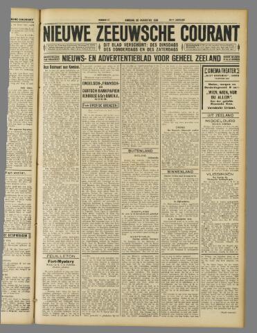 Nieuwe Zeeuwsche Courant 1929-08-20