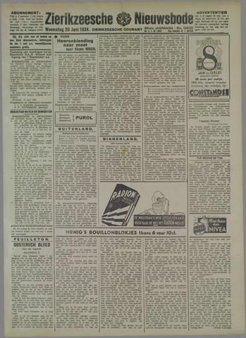 Zierikzeesche Nieuwsbode 1934-06-20