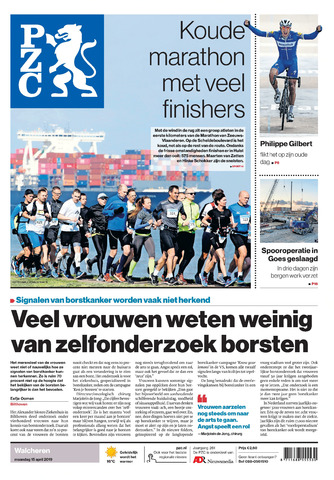 Provinciale Zeeuwse Courant 2019-04-15