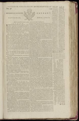 Middelburgsche Courant 1795-04-04