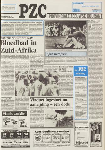 Provinciale Zeeuwse Courant 1987-04-23