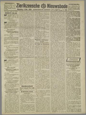 Zierikzeesche Nieuwsbode 1925-05-04