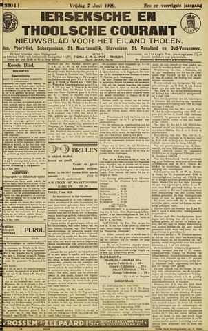 Ierseksche en Thoolsche Courant 1929-06-07