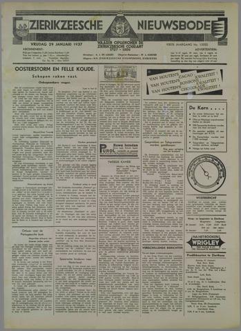 Zierikzeesche Nieuwsbode 1937-01-29