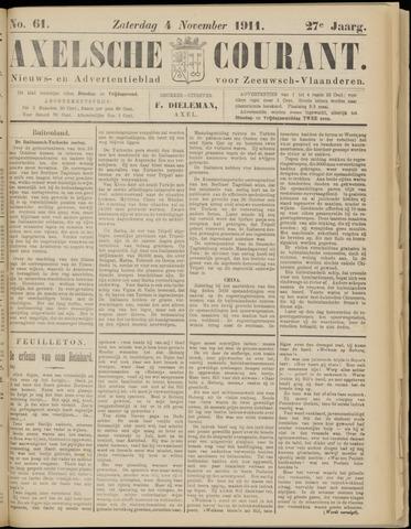 Axelsche Courant 1911-11-04