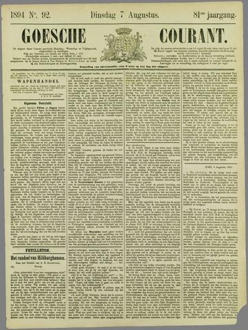 Goessche Courant 1894-08-07