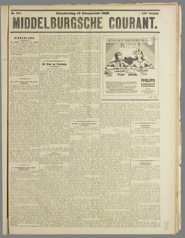 Middelburgsche Courant 1925-12-10