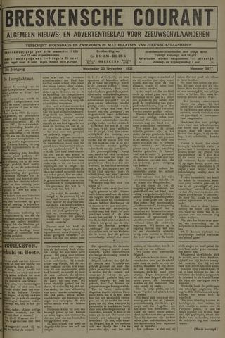 Breskensche Courant 1921-11-23