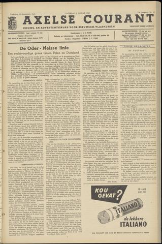 Axelsche Courant 1960-01-09