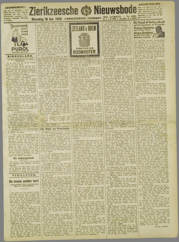 Zierikzeesche Nieuwsbode 1926-01-18