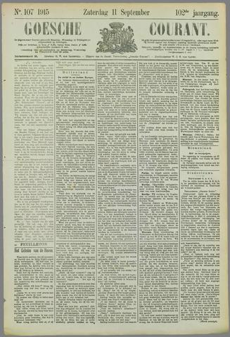 Goessche Courant 1915-09-11