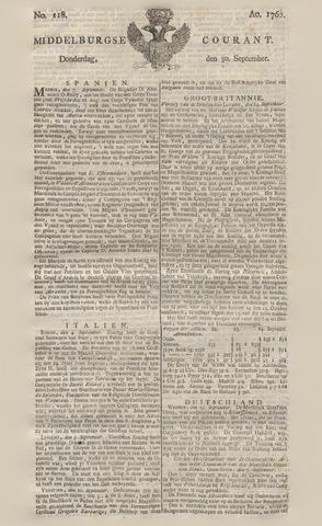 Middelburgsche Courant 1762-09-30