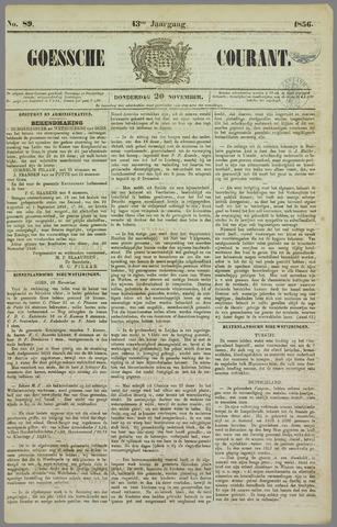 Goessche Courant 1856-11-20