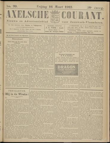 Axelsche Courant 1923-03-16