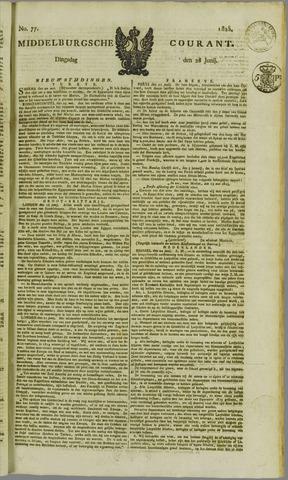 Middelburgsche Courant 1825-06-28