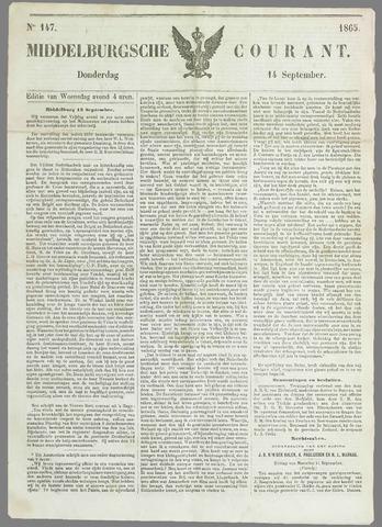 Middelburgsche Courant 1865-09-14