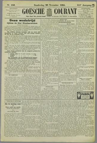 Goessche Courant 1924-11-20
