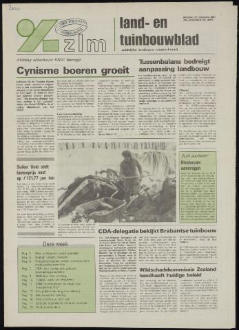 Zeeuwsch landbouwblad ... ZLM land- en tuinbouwblad 1991-02-22