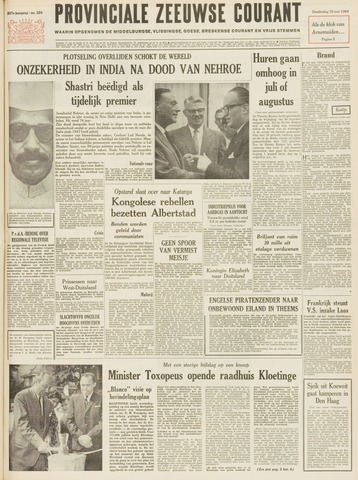 Provinciale Zeeuwse Courant 1964-05-28