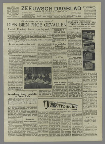 Zeeuwsch Dagblad 1954-05-08