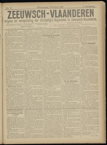 Luctor et Emergo. Antirevolutionair nieuws- en advertentieblad voor Zeeland / Zeeuwsch-Vlaanderen. Orgaan ter verspreiding van de christelijke beginselen in Zeeuwsch-Vlaanderen 1918-10-02