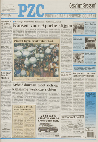 Provinciale Zeeuwse Courant 1995-04-05