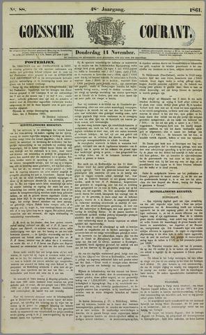 Goessche Courant 1861-11-14